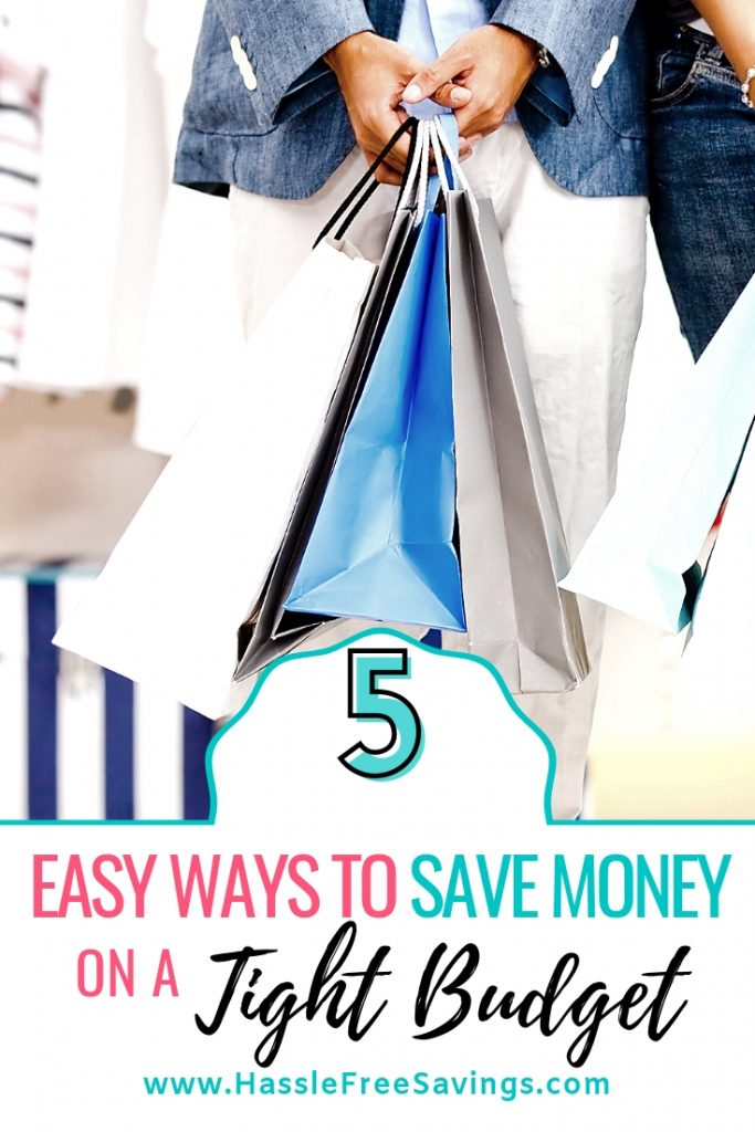 5 easy ways to save money on a tight budget