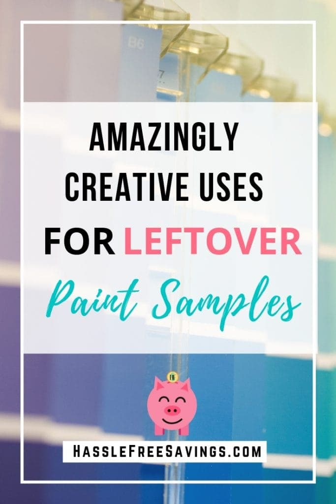 creative uses for paint samples