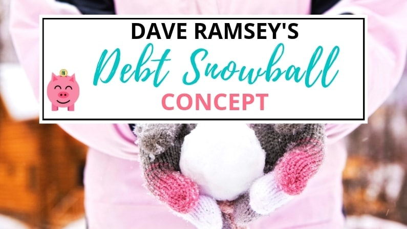 Pay Off Debt: Dave Ramsey Debt Snowball Concept