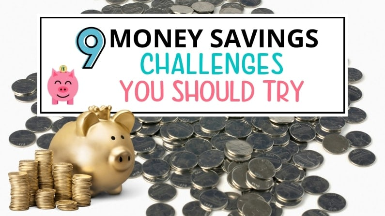 9 Easy Money Saving Challenges To Kick Start Your Savings