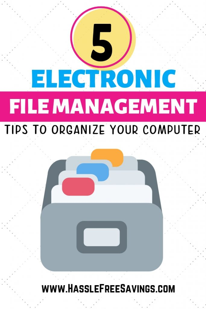 electronic file management tips