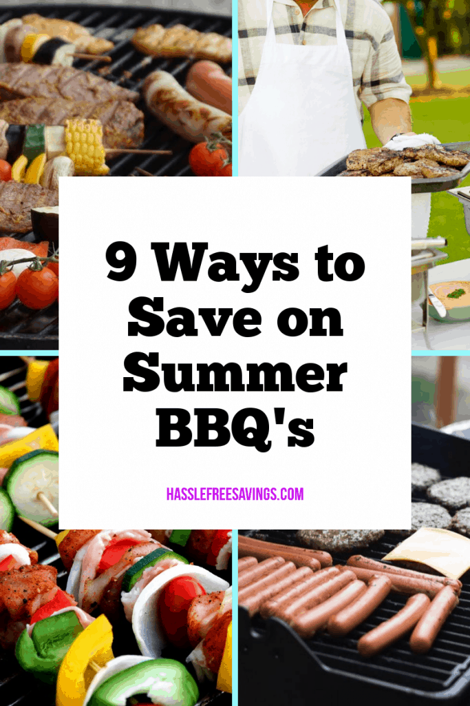 9 ways to save on summer barbecues