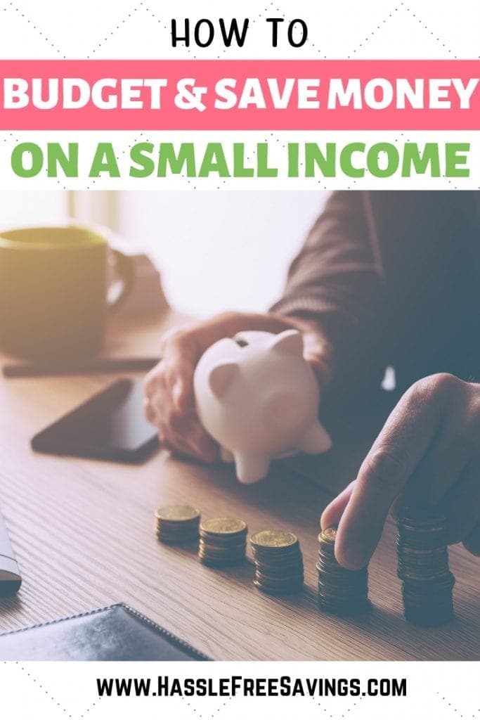 budget and save money on a small income