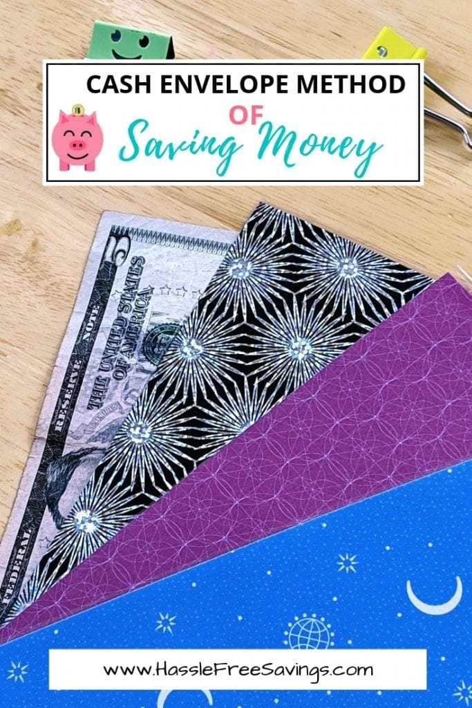 envelope method of saving money