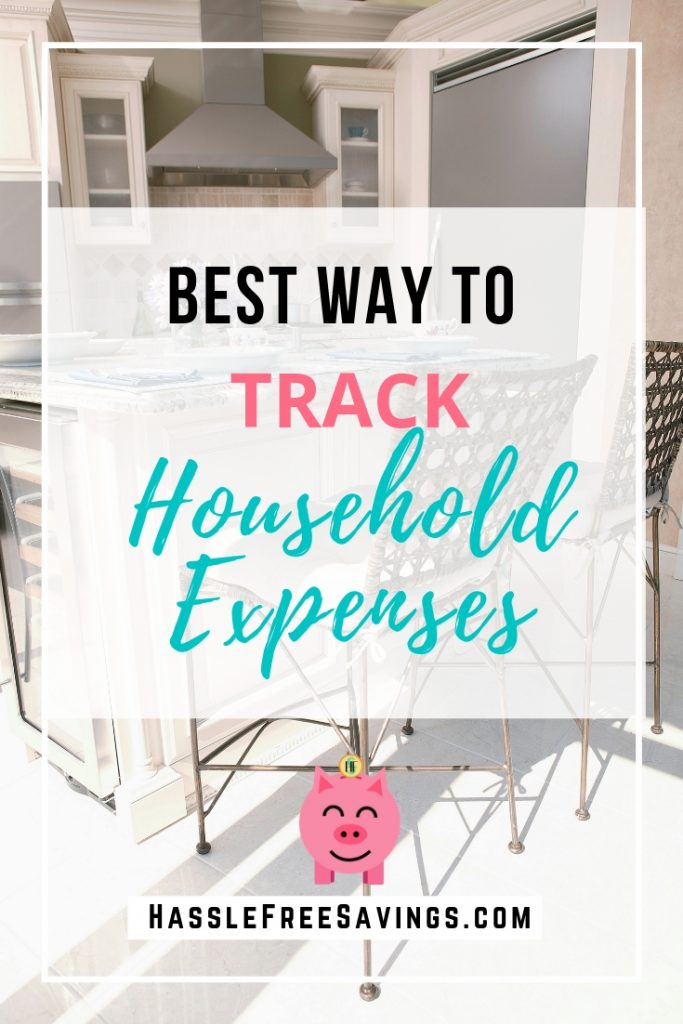 tracking household expenses