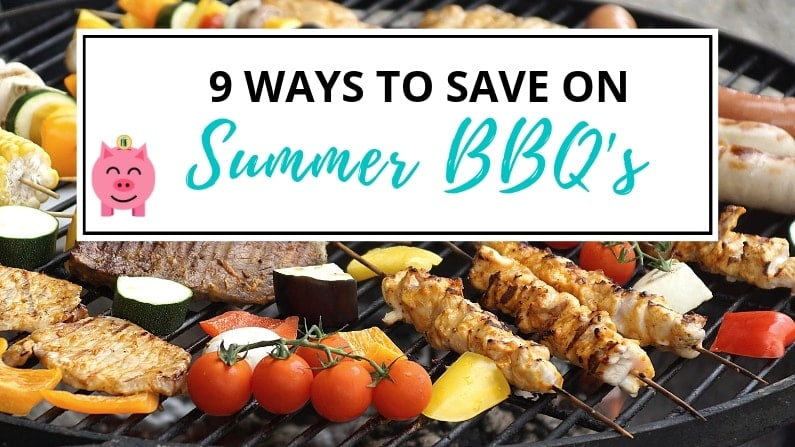 ways to save on summer bbq's