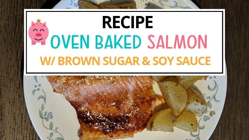 oven baked salmon with brown sugar and soy sauce