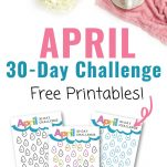 April 30 Day Money Saving Challenge