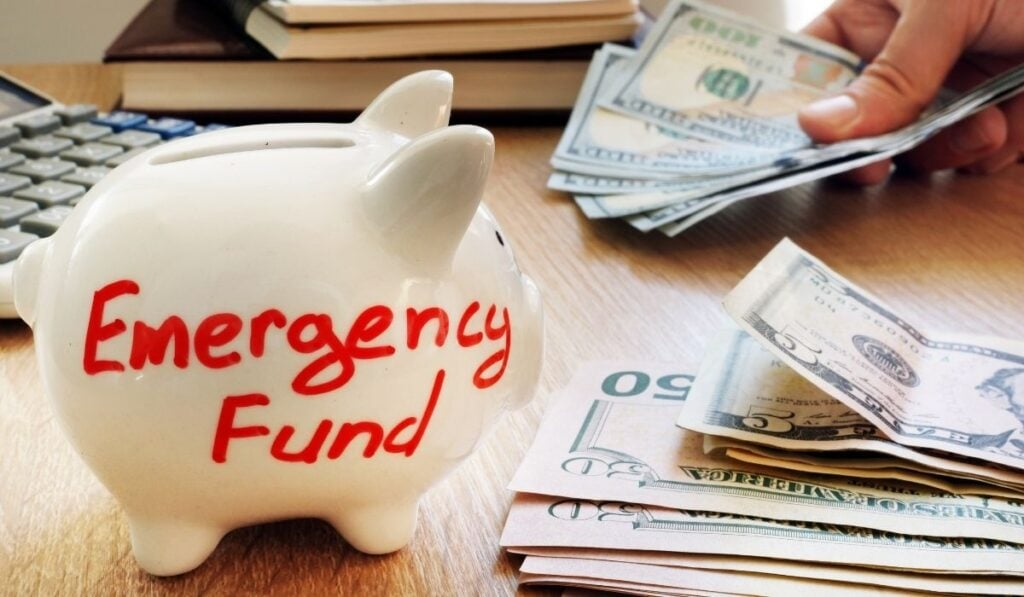 Creating emergency fund
