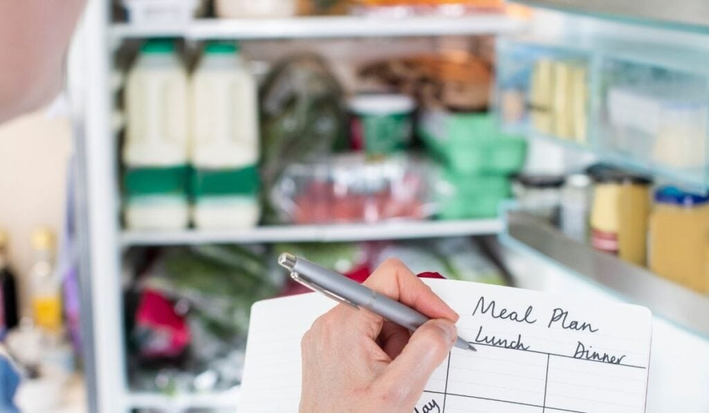 Refrigerator for Meal Planning