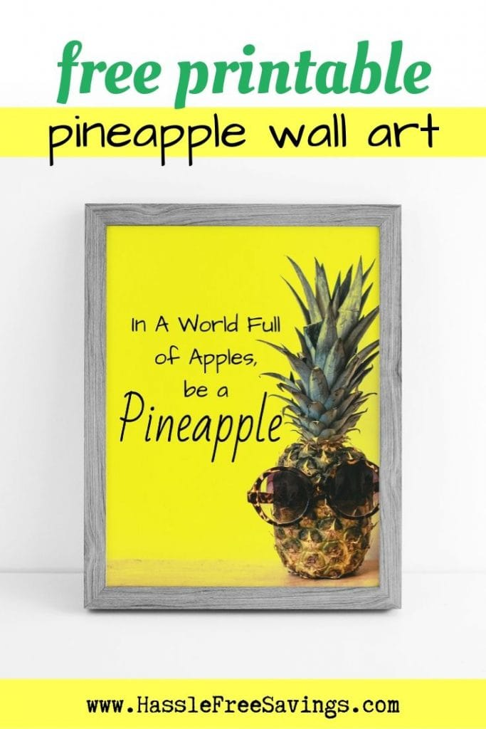 graphic regarding Free Printable Pineapple identify Be a Pineapple - 7 Free of charge Printable Pineapple Rates - Hle