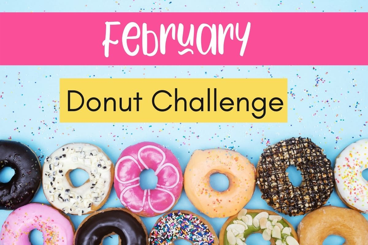 february donut challenge featured image