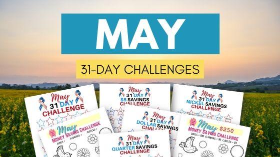 may challenge printables